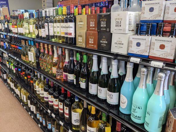 Liquor Store Gondola Shelves 2