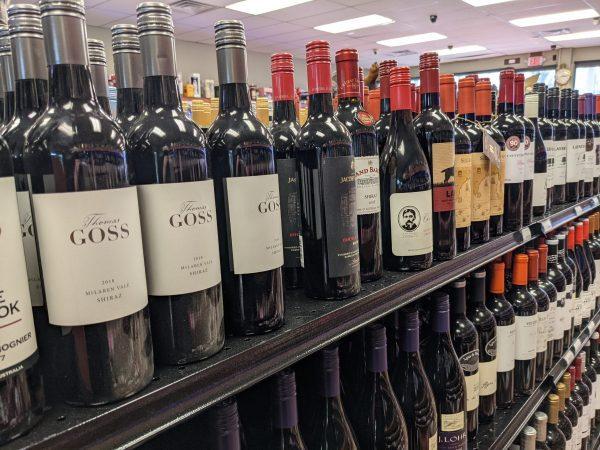 Liquor Store Gondola Shelves