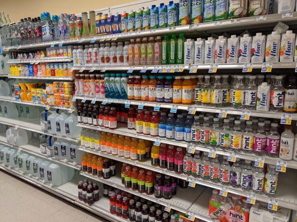 Supermarket Wall Unit Shelving