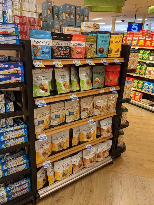 Grocery Store End Unit Display