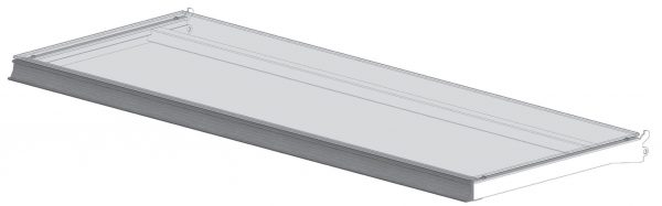 Glass LED Shelves