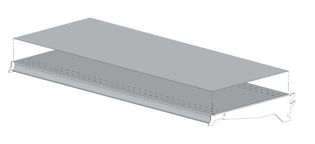 Stainless Steel Shelf Covers