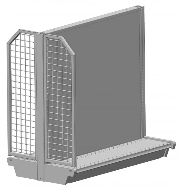 Wire Grid End Panels