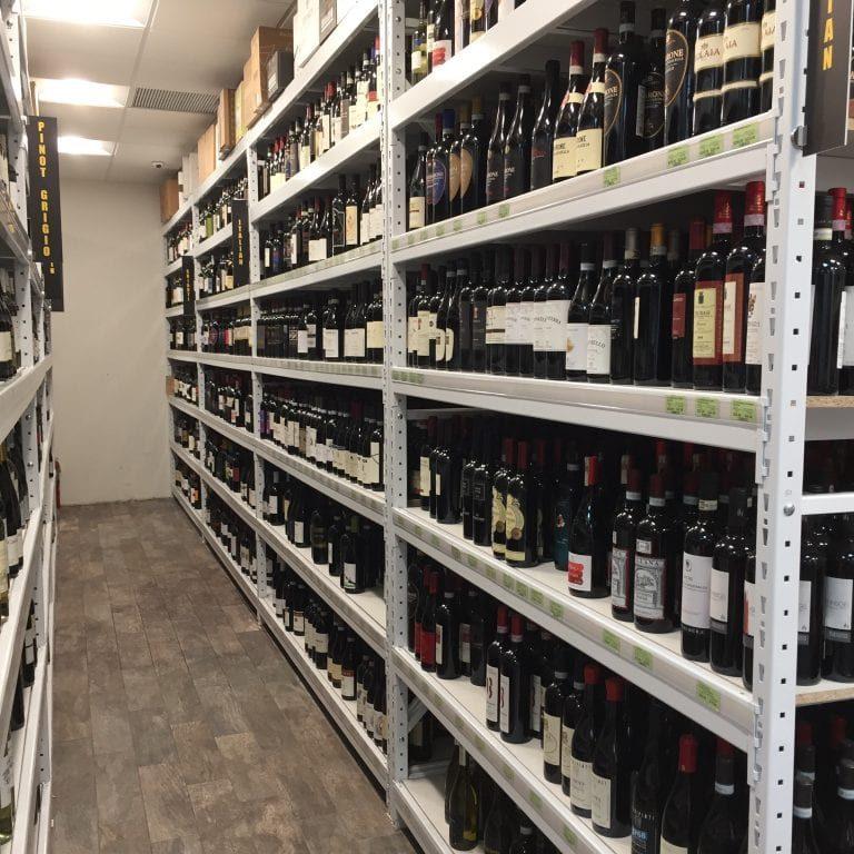 Liquor Clearspan Shelving