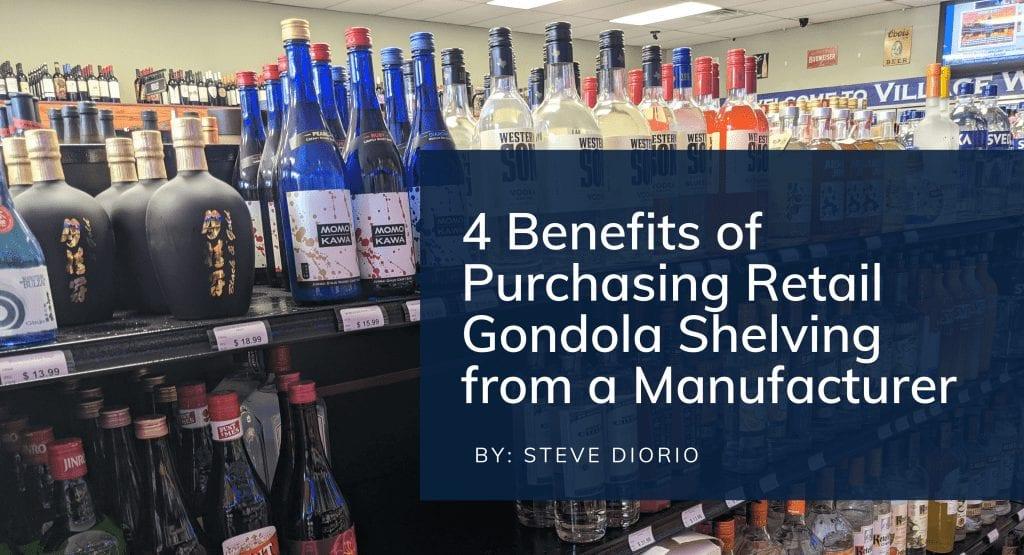 gondola shelving benefits